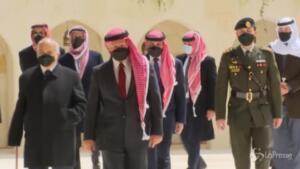 re Abdallah e Hamzah apparsi insieme in pubblico