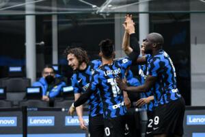 Matteo Darmian esulta dopo il gol 1-0