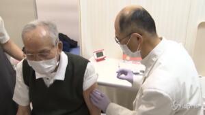 vaccinazione degli over 65 in Giappone