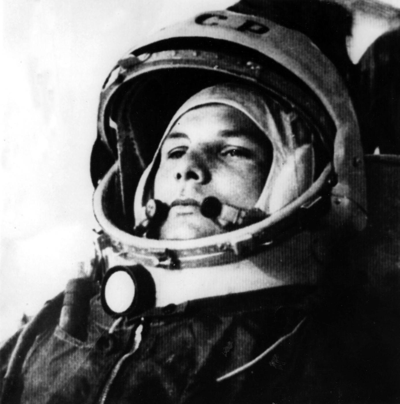 Gagarin fu il primo uomo nello spazio