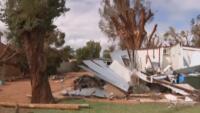 ciclone tropicale Serjo si abbatte sull'Australia dell'Ovest