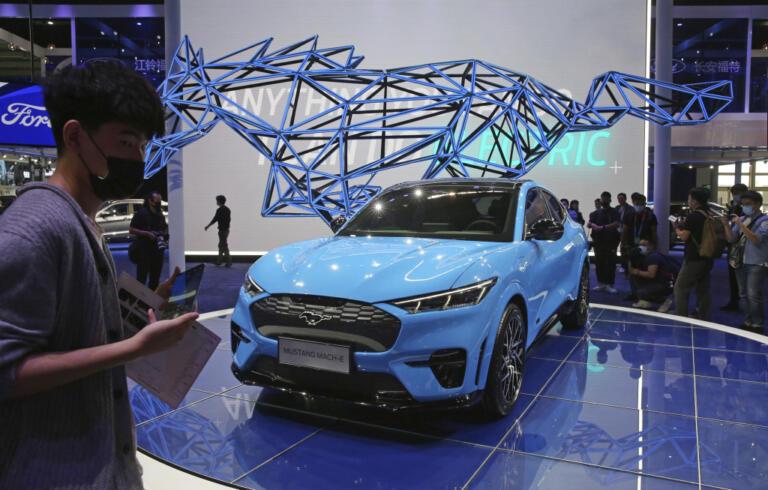 Mustang Mach-Eduring, al Salone Internazionale dell'Automobile di Pechino