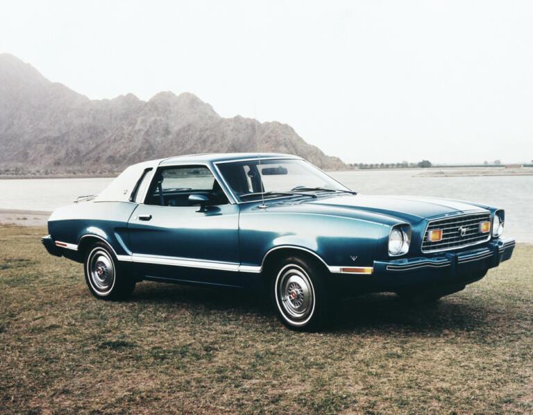 1976 La Ford Mustang.