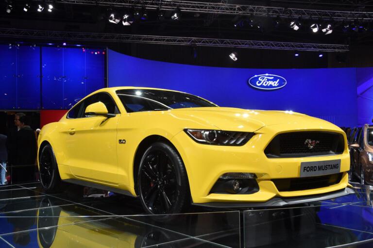 Ford Mustang 5.0 al salone auto di Parigi.