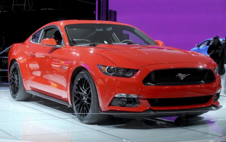 Ford Mustang 50 al New York International Auto Show 2014 di New York