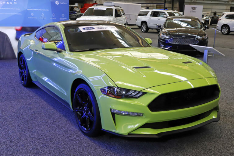Ford Mustang Ecoboost Coupe al 2020 Pittsburgh International Auto Show