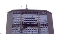 incidente aereo al Grattacielo Pirelli di Milano
