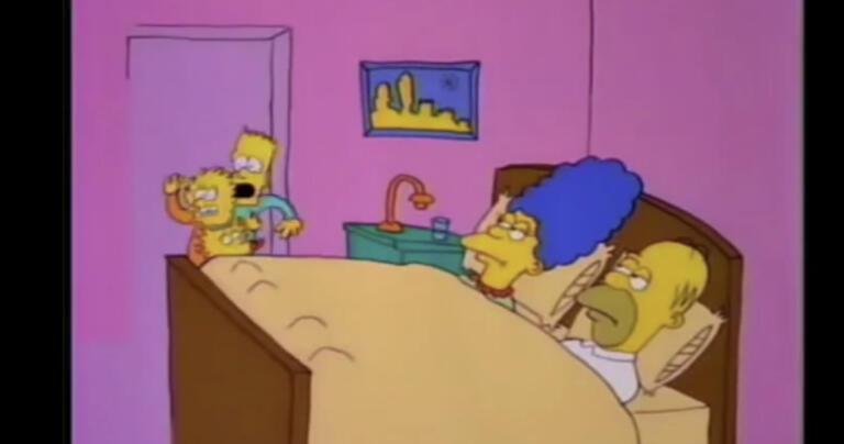 prima apparizione dei Simpson in TV - GALLERY