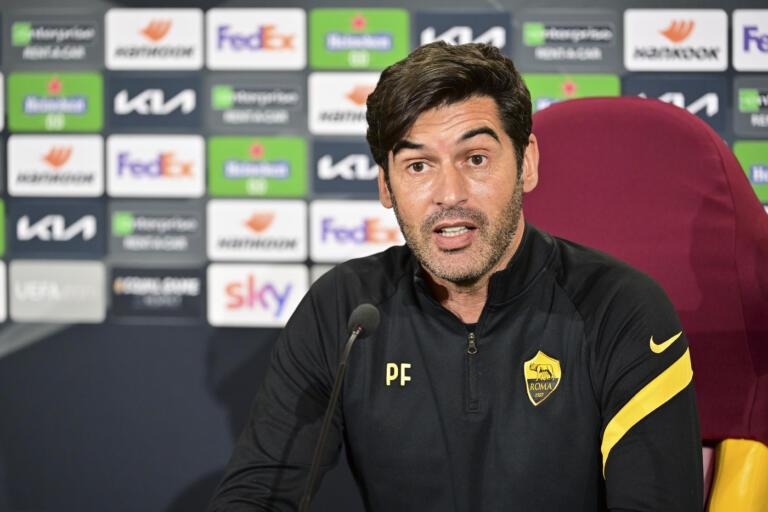 Europa League, conferenza stampa della AS Roma a Trigoria