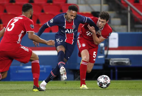 Champions League, Psg vs Bayern Monaco