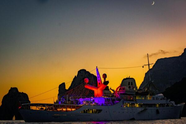 Heidi Klum e Tom Kaulitz di nuovo sposi a Capri