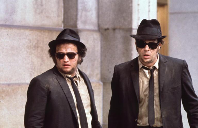 The Blues Brothers. Dan Aykroyd, John Belushi