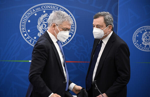 Daniele Franco, Mario Draghi