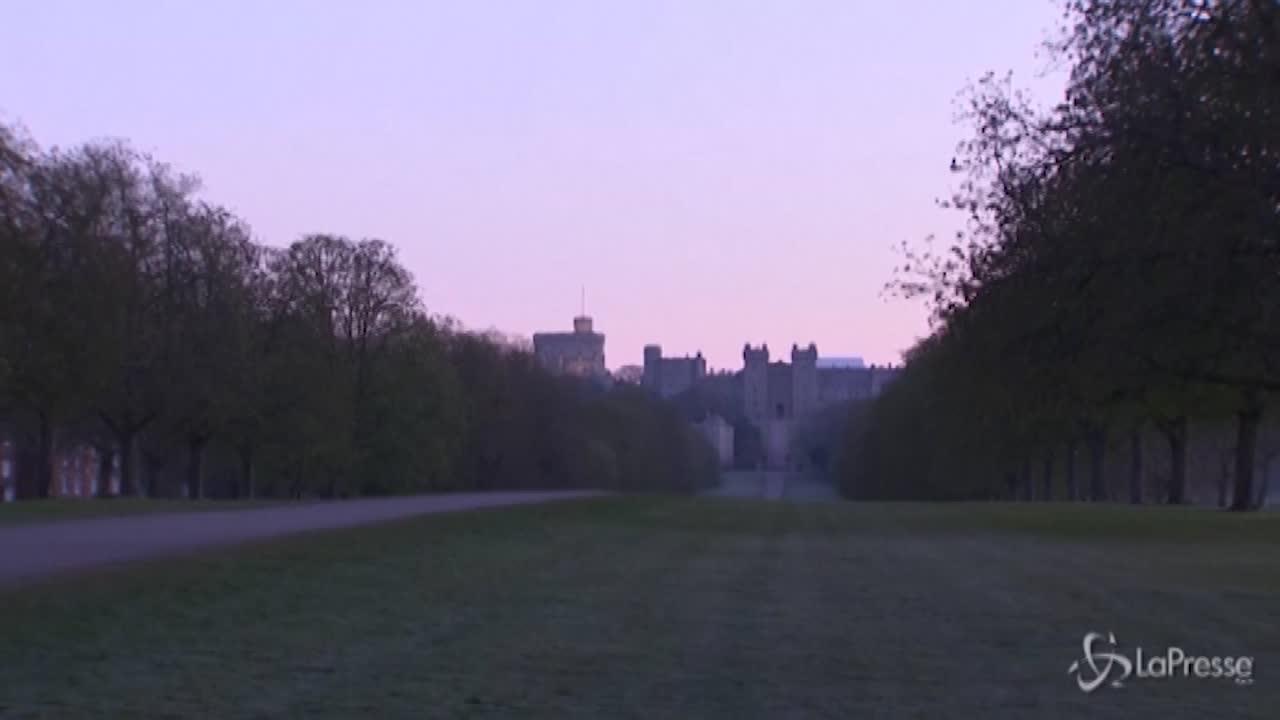 Windsor l'attesa per i funerali di Filippo