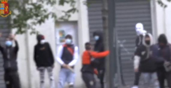 Il rapper Baby Gang fermato a Milano