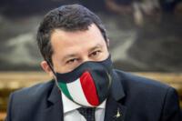 Matteo Salvini alla presentazione del libro di Corrado Ocone