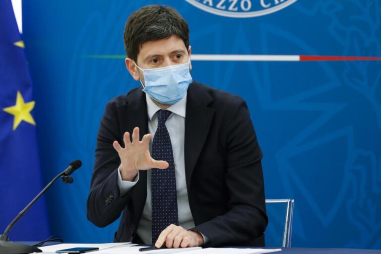 Virus Outbreak Italy Politics