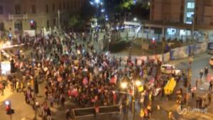 proteste contro Netanyahu