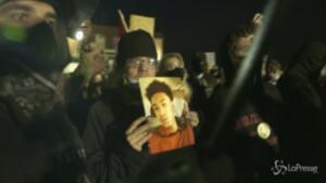 proteste dopo la morte di Daunte Wright