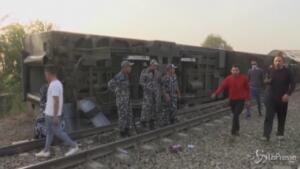 Incidente ferroviario in Egitto