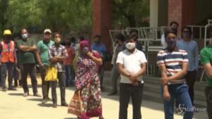 lockdown a Nuova Delhi
