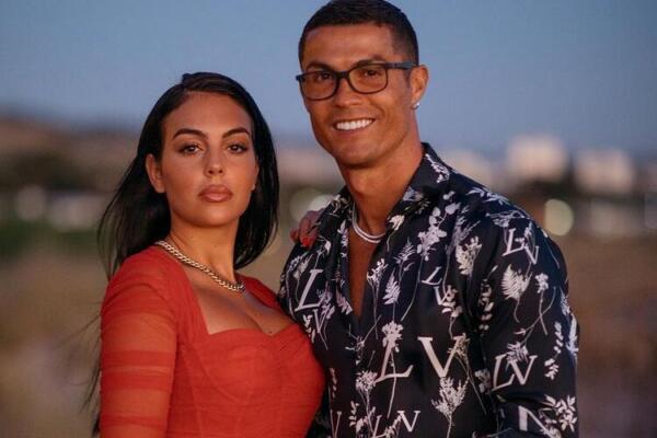 Georgina e Cristiano Ronaldo
