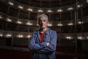 Sergio Rubini sul set I Fratelli De Filippo photo by Eduardo Castaldo