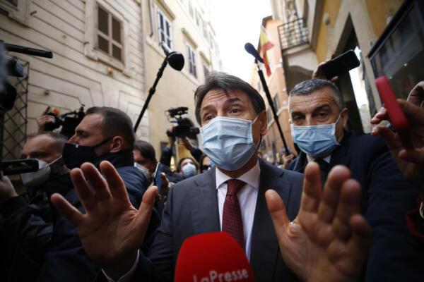 Caso Grillo, Giuseppe Conte