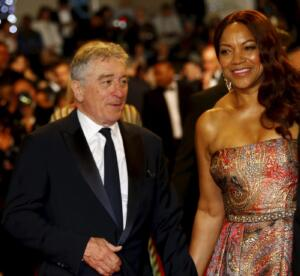 Robert de Niro e la moglie Grace Hightower