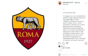 Superlega, As Roma: Fortemente contrari a questo modello chiuso