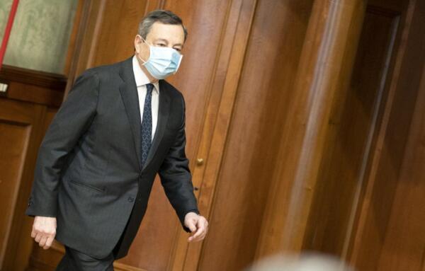 Il Presidente Mario Draghi incontra i sindacati a Palazzo Chigi