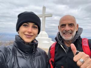 Paolo Brosio e Maria Laura