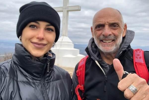 Paolo Brosio con Marialaura