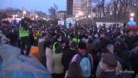 manifestazione pro Navalny a Vladivostok