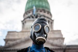 Marcia per il clima a Buenos Aires