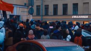 Manifestazioni per Navalny in Russia