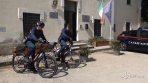 biciclette elettriche per carabinieri nei Parchi