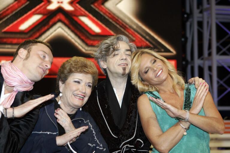 Puntata finale del programma TV della RAI: Xfactor
