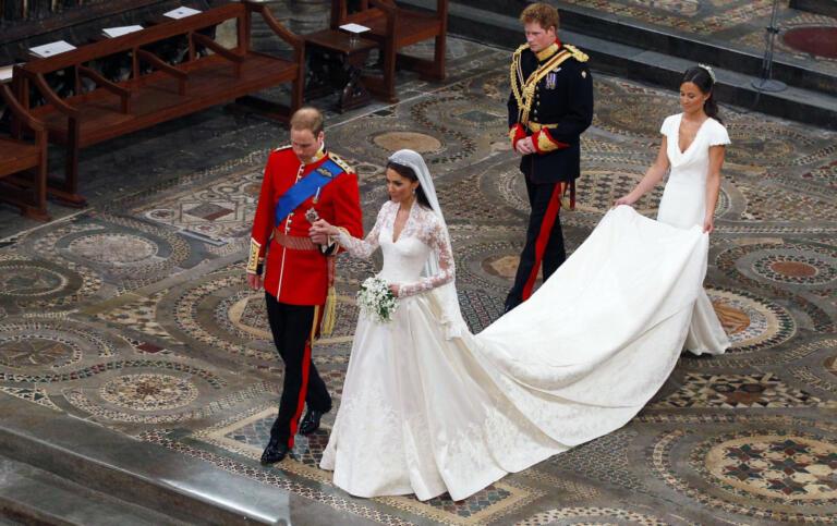 William e Kate matrimonio