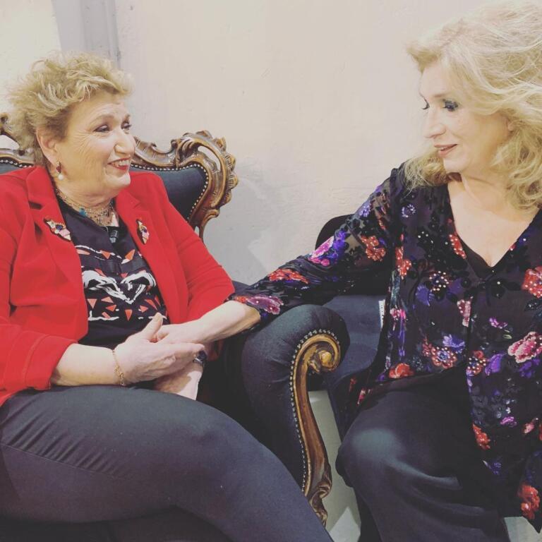 Mara Maionchi e Iva Zanicchi