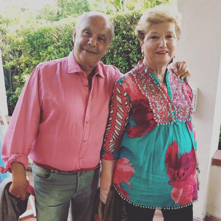 Mara Maionchi e il marito Alberto Salerno