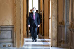 Draghi interviene al Leaders Summit on Climate