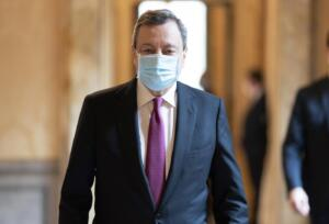 Draghi interviene al Leaders Summit on Climate