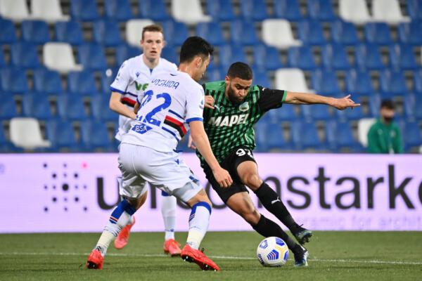 Sassuolo vs Sampdoria - Serie A TIM 2020/2021
