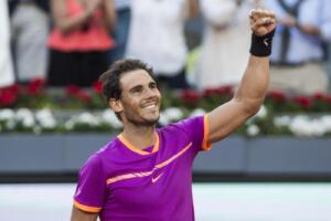 Nadal batte Thiem e vince per la quinta volta il titolo a Madrid