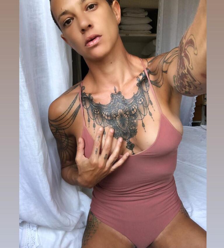 Asia Argento tatuaggi