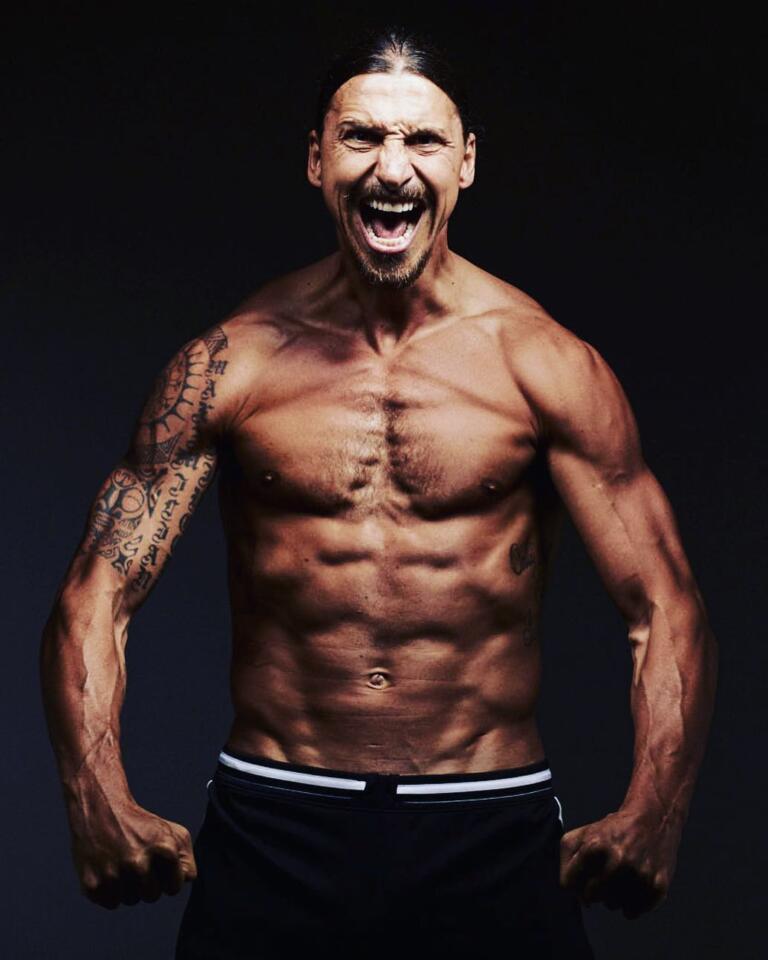 Zlatan Ibrahimovich tatuaggi