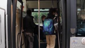 mezzi pubblici con gli studenti di Torino