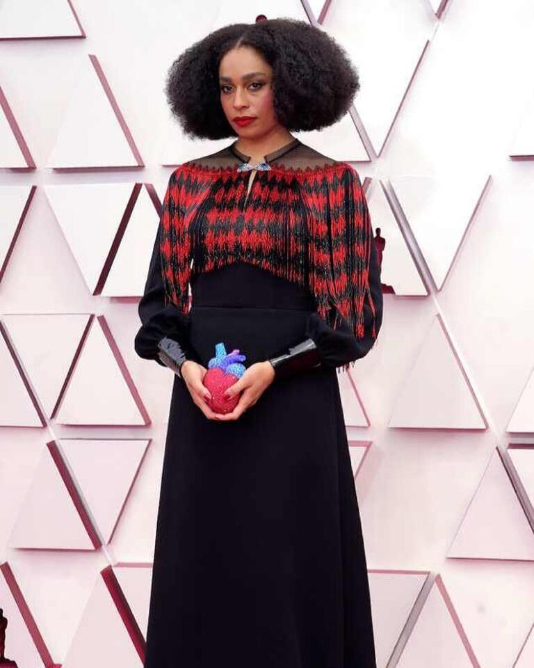 Celeste Waite in Gucci