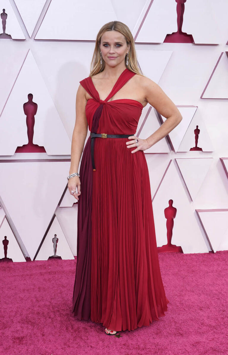 Reese Witherspoon veste Dior bicolore